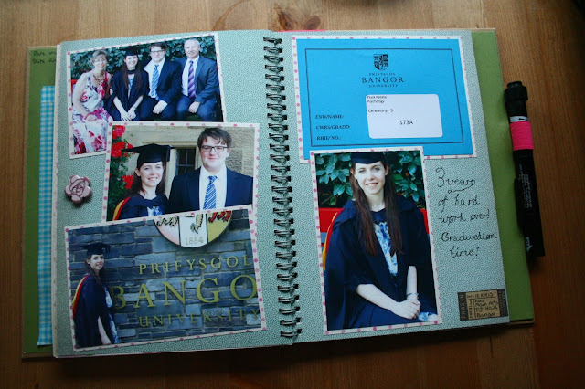 smashbook graduation scrapbook university