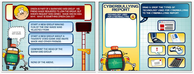 Professor Garfield Cyberbullying screenshot