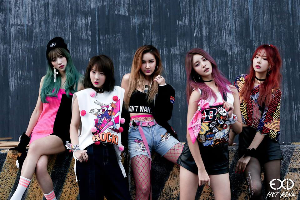 EXID Korean Girl Group