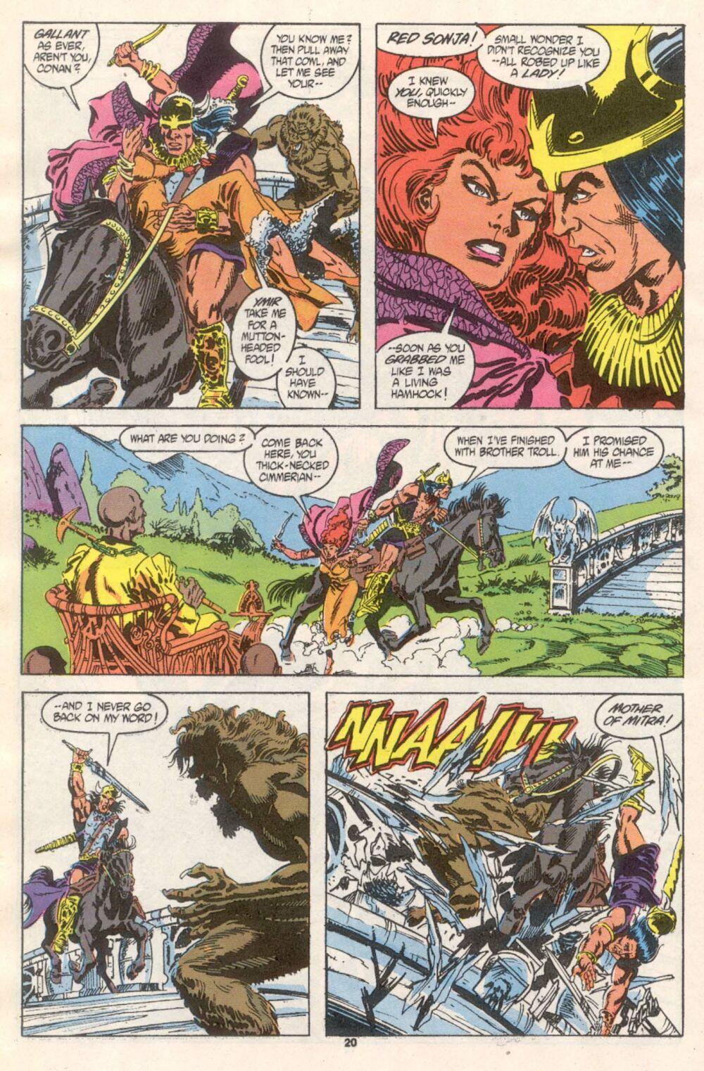 Conan the Barbarian (1970) Issue #241 #253 - English 17