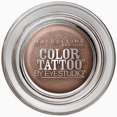 Maybelline Color Tattoo 24hr Leather eye shadow 80 Creamy Beige