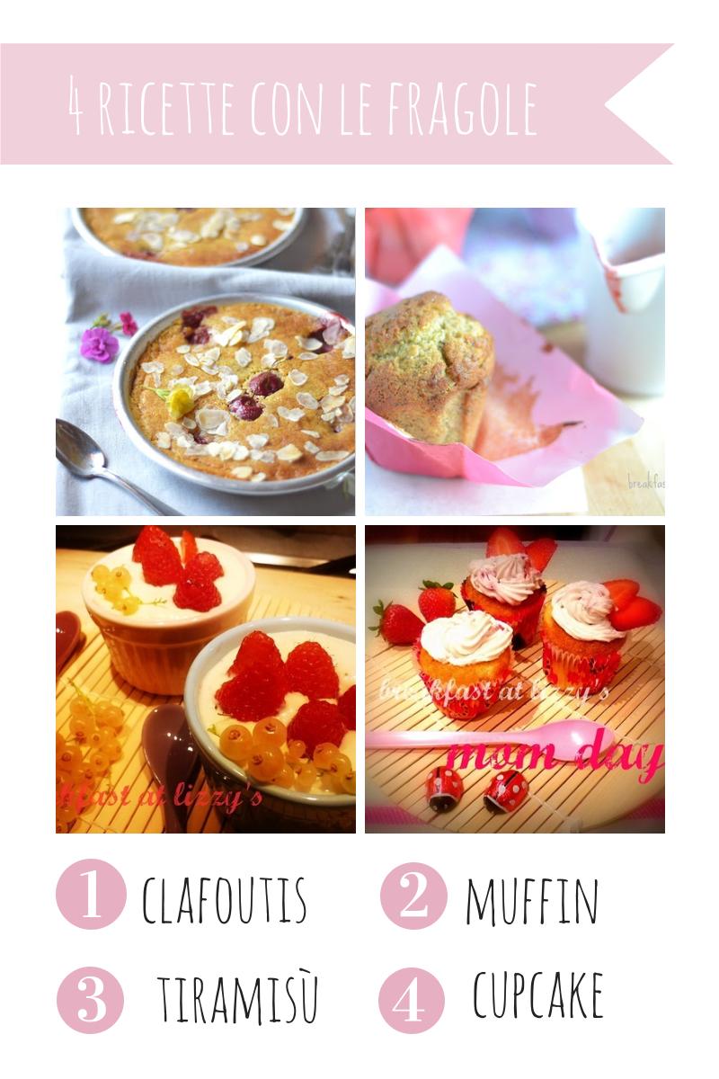 4 ricette con le fragole
