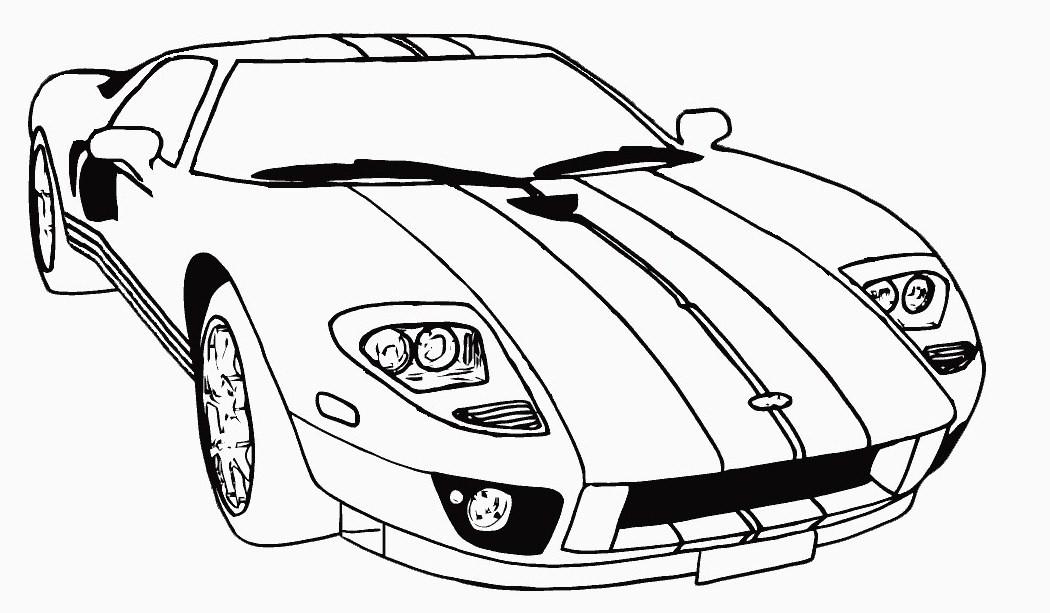 imagens para colorir carros de corrida - Desenhos de Carros para colorir jogos de pintar e imprimir