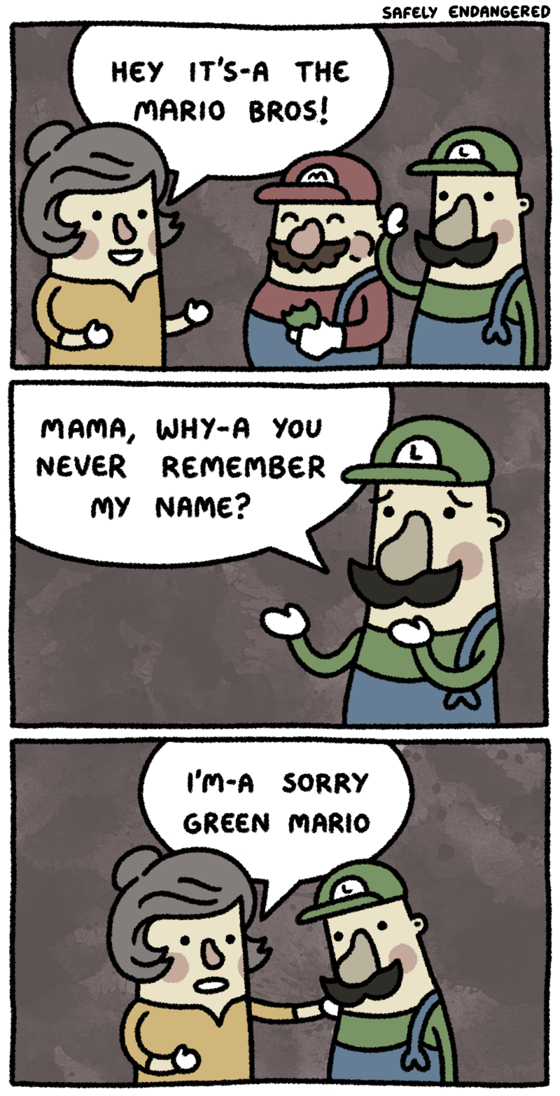 SafelyEndangered Mario Brothers
