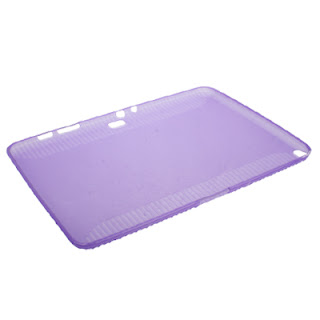 TPU Case for Samsung Galaxy Note (10.1) / N8000 / N8010, Purple