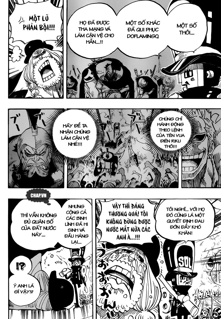 One Piece Chapter 728: Bi kịch 012