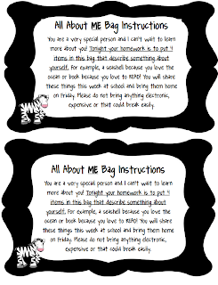 All About Me Printables and Worksheets | A to Z Teacher