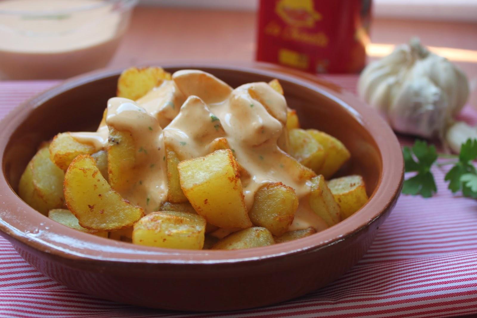 Image Result For Receta Patatas Bravas Mayo