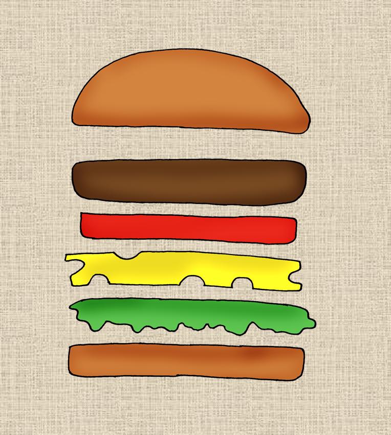 burger frau locke. Black Bedroom Furniture Sets. Home Design Ideas
