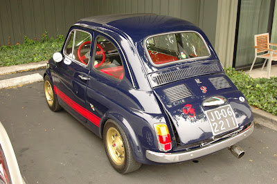 1972 Fiat Abarth 695.