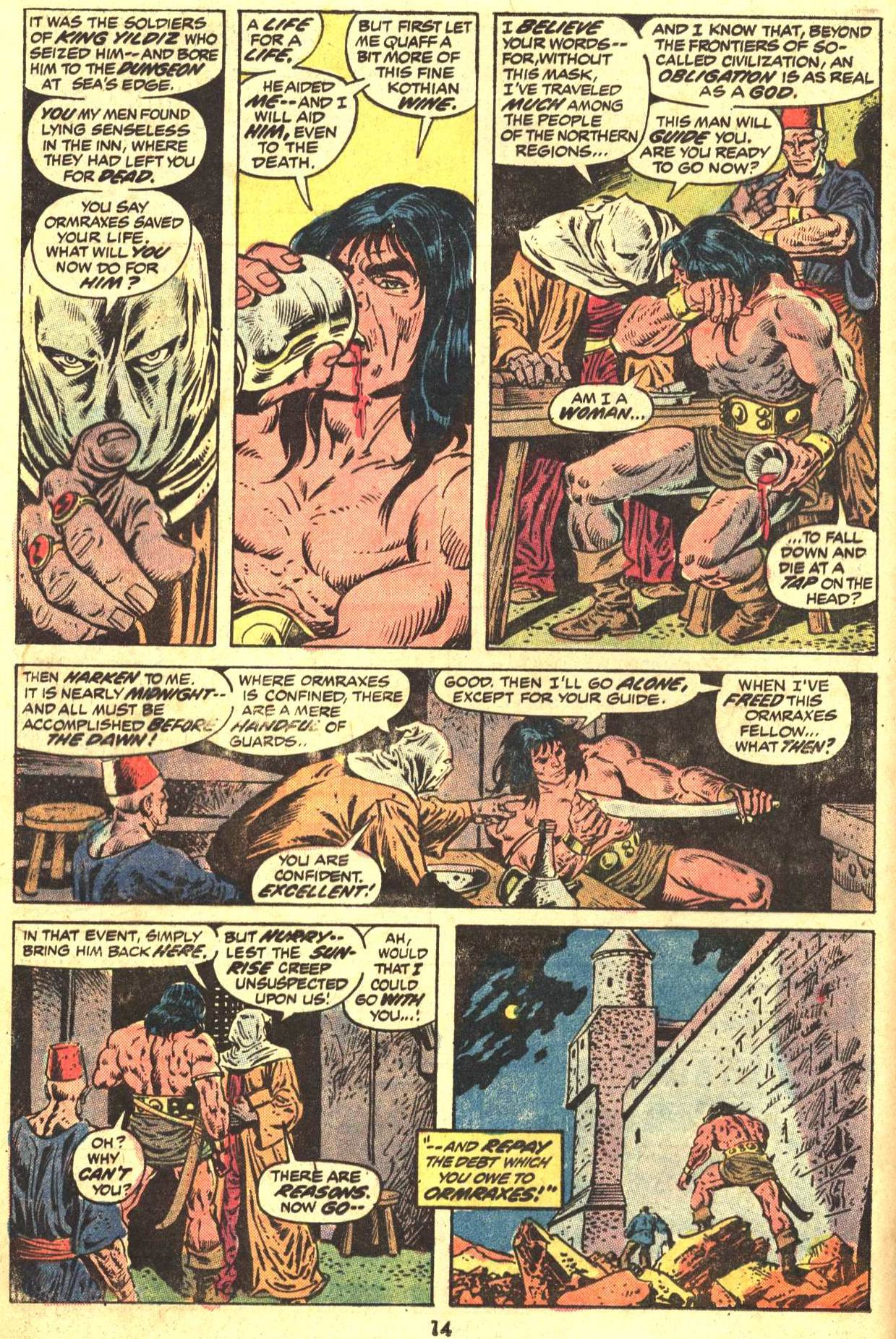 Conan the Barbarian (1970) Issue #29 #41 - English 11