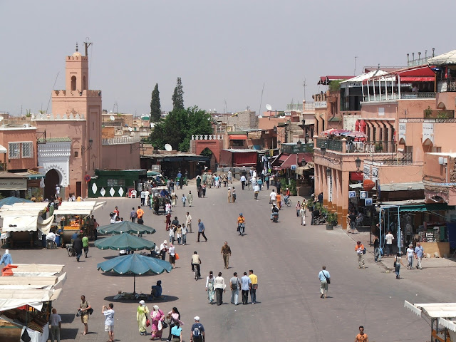 piazza Djamaa el-Fna