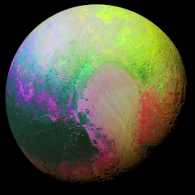 A Psychedelic Pluto