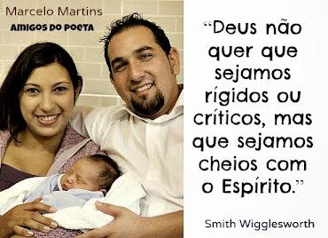 Marcelo Martins e Esposa