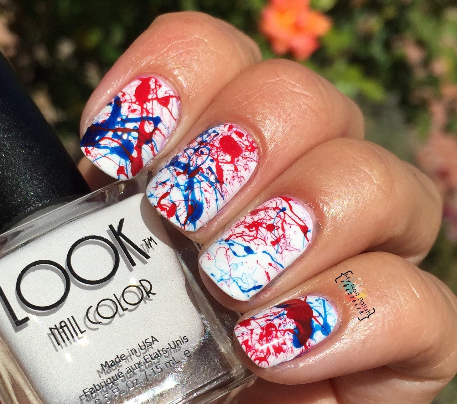 My Nail Polish Obsession: LOOK Nail Color LOOK Proud, 4th of July ...