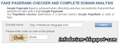 InfoDariBlogspot Dapat Google Pagerank 2