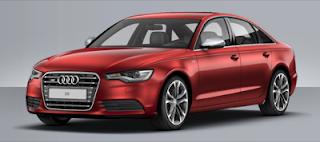 2013 Audi A6 garnet red