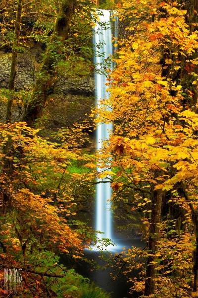 Cascadas Sur, Parque Nacional Silver Falls, Oregon