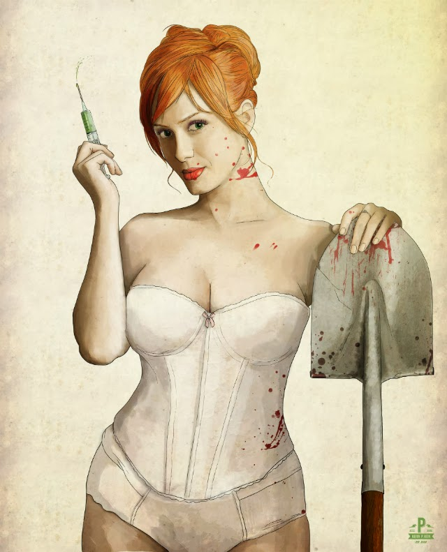 Christina Hendricks Asesinas famosas