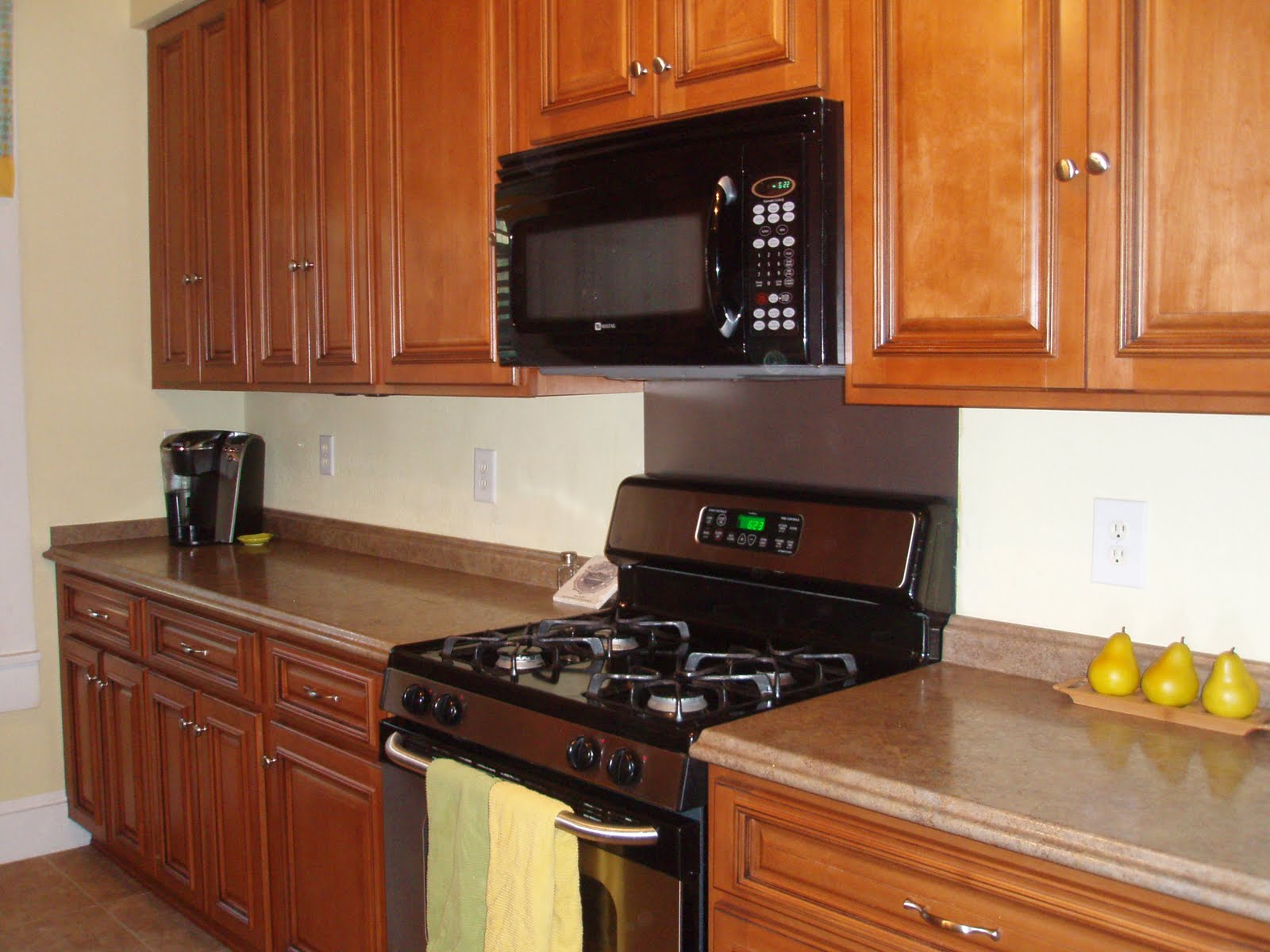 1222 east strong street kitchen updated in 2009 with new for New kitchen cabinets and countertops