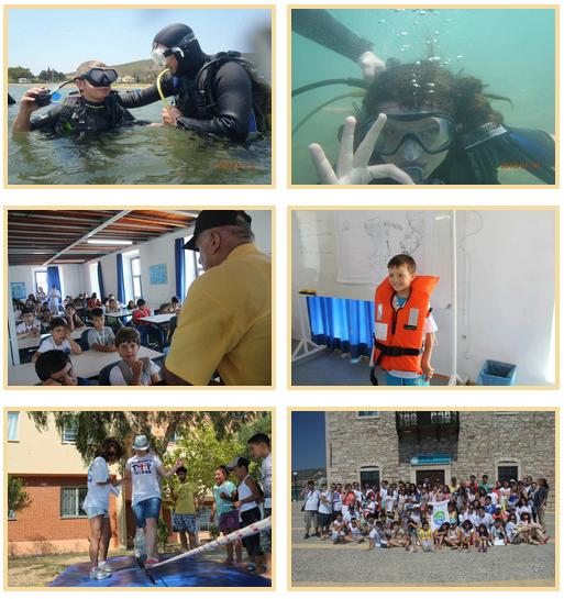 turmepa masmavi deniz eğitim kampı fotoğrafları