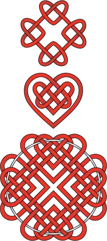 Figuras de Amor con Signos del Teclado (Símbolos y Letras)