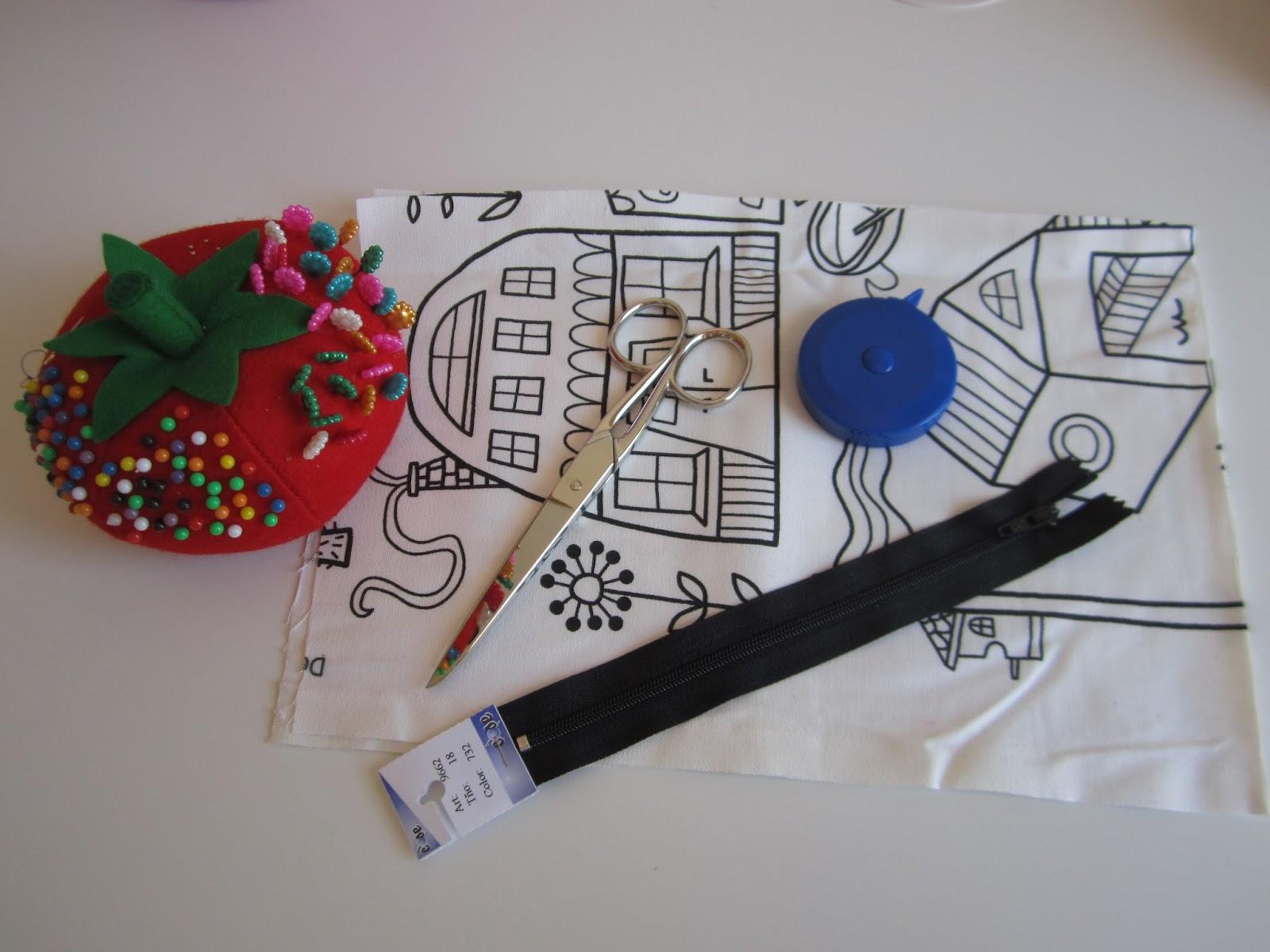 mis nancys, mis peques y yo, tutorial funda de cojin materiales