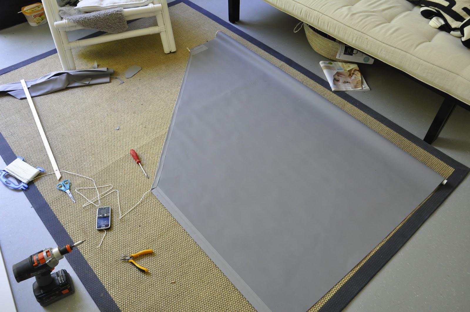 Rolgordijn Badkamer Ikea : Our green empire ikea hacks rolgordijn en badkamer meubel