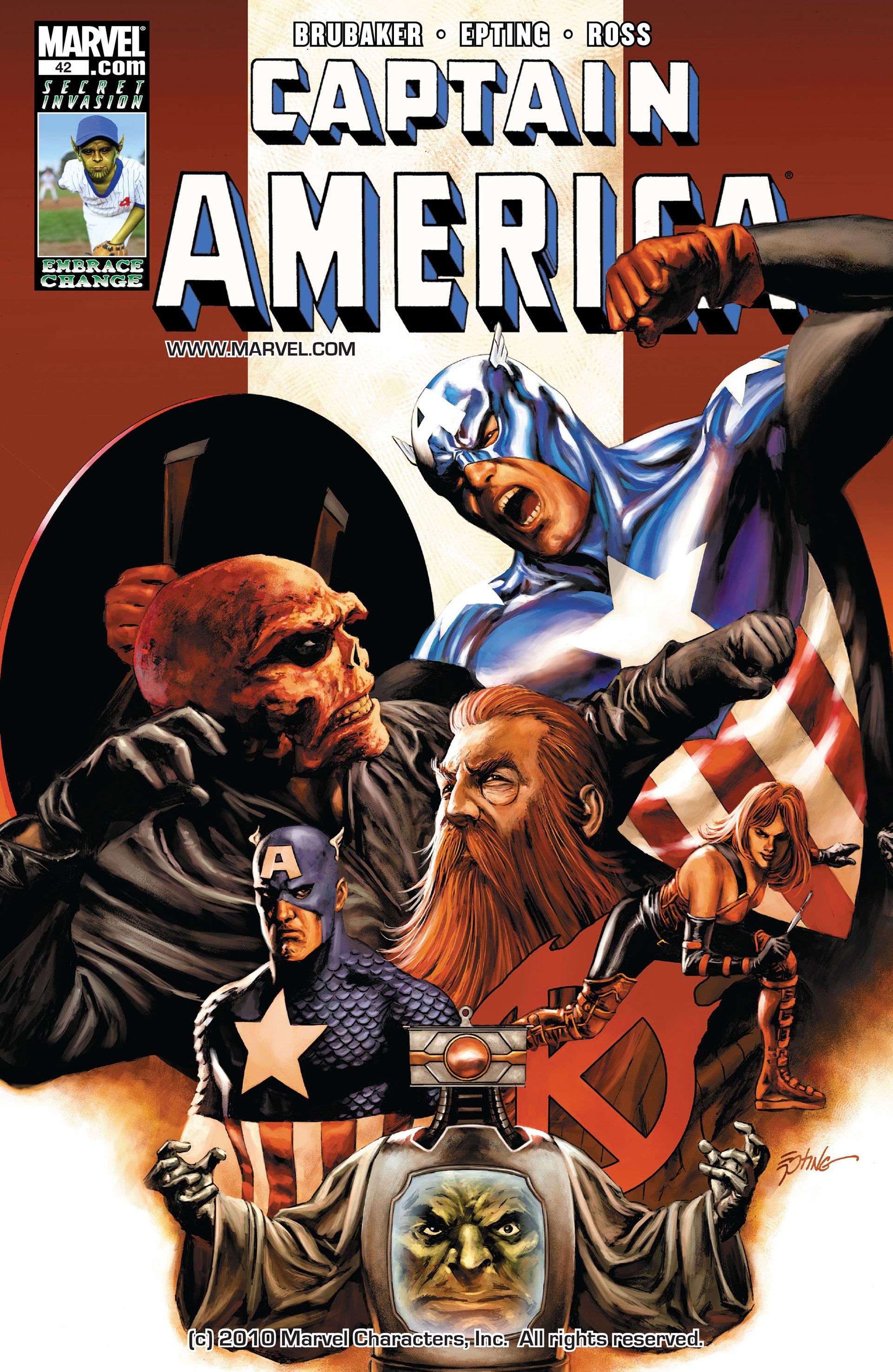 Captain America (2005) Issue #42 #42 - English 1