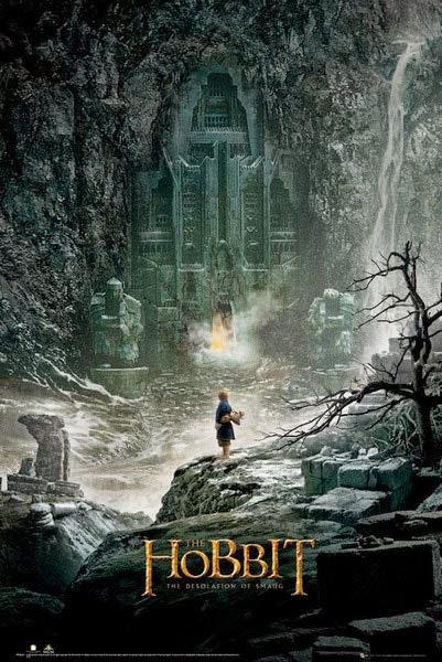Poster El Hobbit La Desolación de Smaug