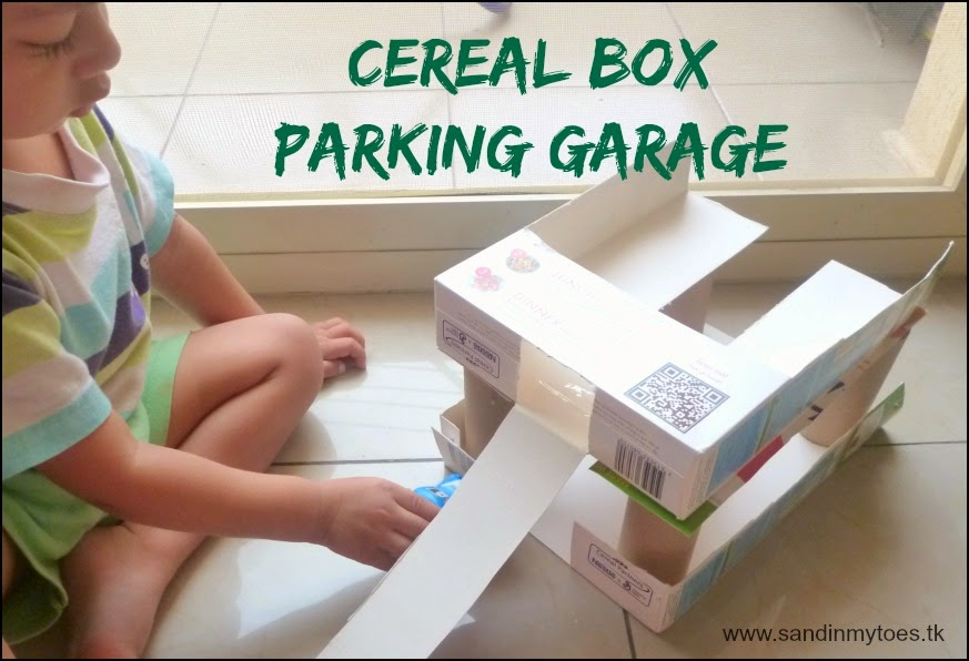 Cereal Box Parking Garage