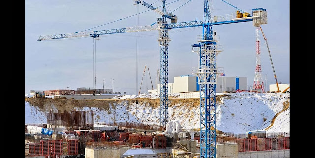 Vostochny spaceport construction site. Credit: ampravda.ru