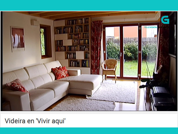 Reportaje de la TVG sobre una casa pasiva en Videira, Cangas