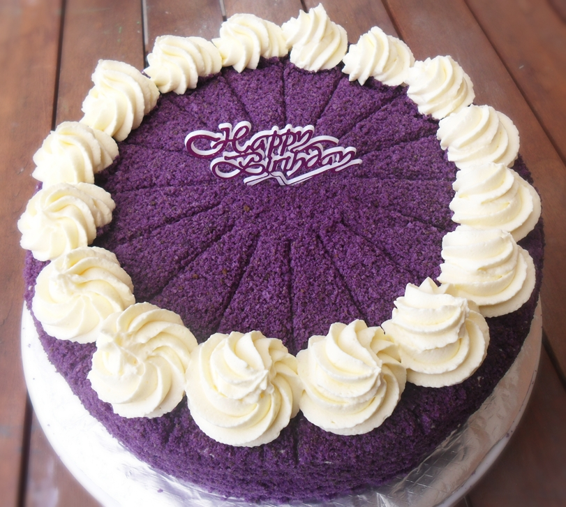 Heart Of Mary Ube Purple Yam Macapuno Cakevisited