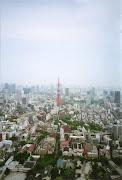 六本木ヒルズから観た東京タワーです. 生憎の天気でしたが (img )