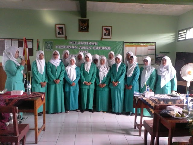 PAC dan Pimpinan Ranting Fatayat NU se Kecamatan Purwosari Dilantik