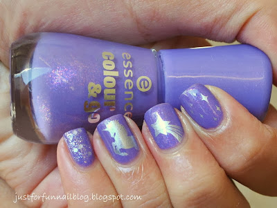 31DC Day 29 - Inspired by the Supernatural with NC02 & Essence 133 - Oh my Glitter!