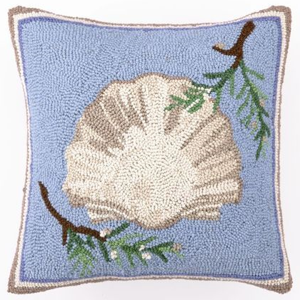 Coastal Nautical Christmas Pillows