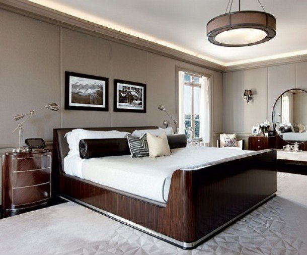 Top Most Elegant Beds and Bedrooms in the World: Brown and ...