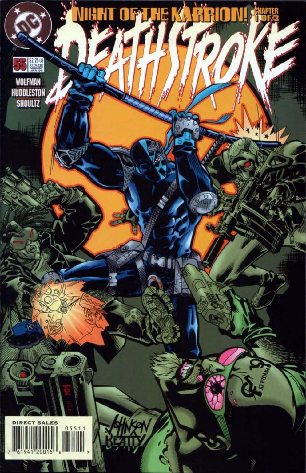 Deathstroke (1991) Issue #55 #60 - English 1