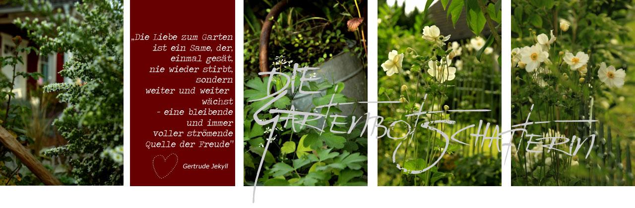 Die Gartenbotschafterin