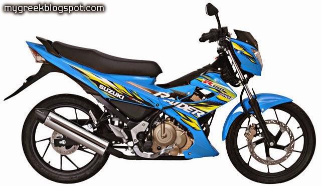 Suzuki Raider 2017 >> SUZUKI RAIDER 150 greece | Pestokietsi