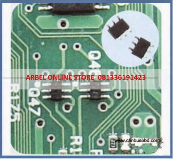Mekanik Super Komponen perbaikan ECU ECUEFI dan Meter
