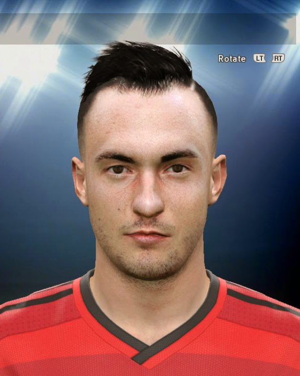 PES 2015 Josip Drmic Face by AMussoullini