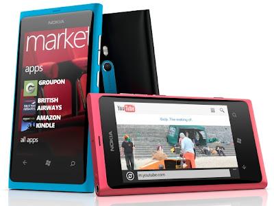 Nokia Lumia 800 - First Nokia Device operates with Windows Phone