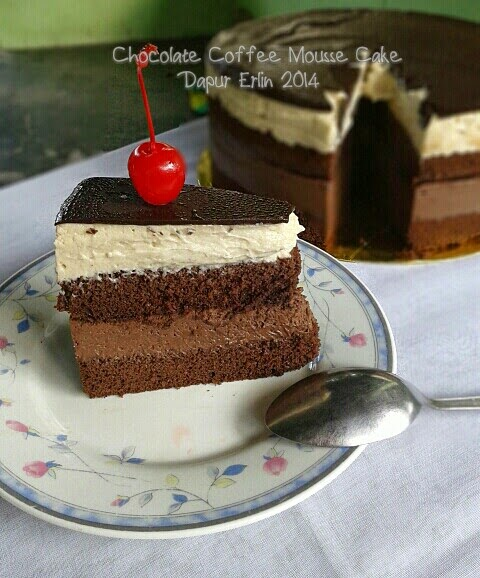 Resep Coffee Mousse Cake