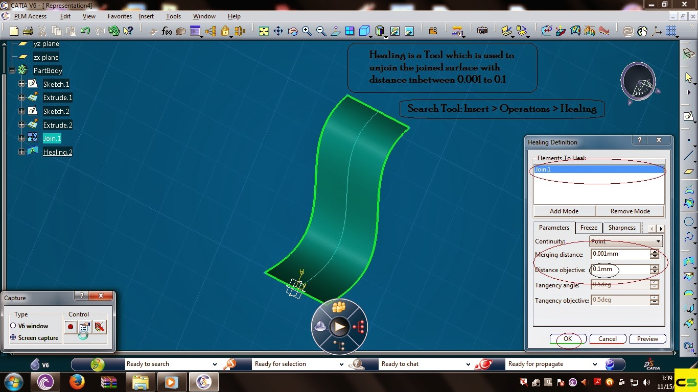 Catia Surface