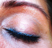 blue eye liner