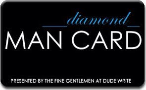 Diamond Man Card Award
