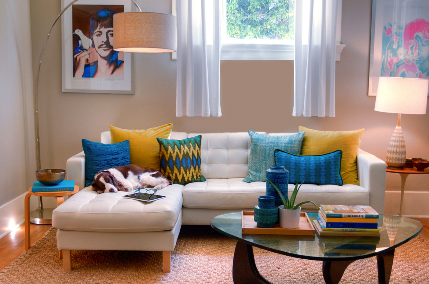 And let's not forget the Karlstad sectional from Ikea -- one of Jill's  title=